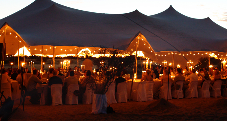 Kalahari Stretch Tents Catering Tents Marquees Northern Cape