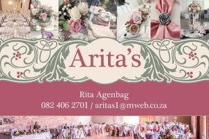 Arita's Studio & Heavenly Flowers | ncweddings | Northern Cape Weddings