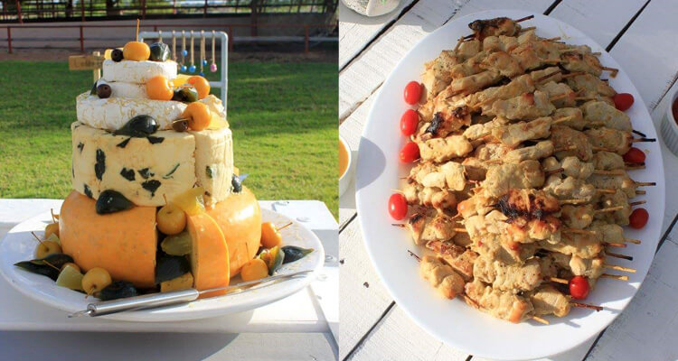 Honey Blue Catering   Northern Cape Wedding Catering   Wedding Food   Hennie & Riana Blaauw