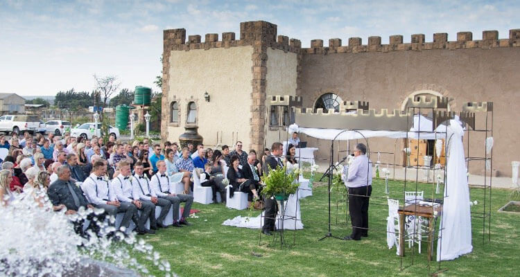 Die Kasteel | Hartswater Wedding Venue | ncweddings | Northern Cape